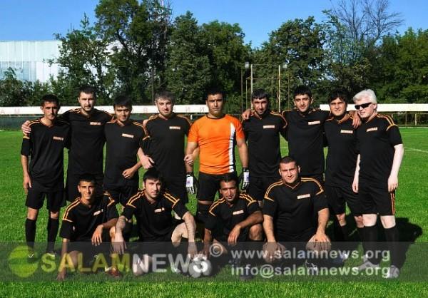 В Москве проходит футбольный турнир памяти шехида Мубариза Ибрагимова