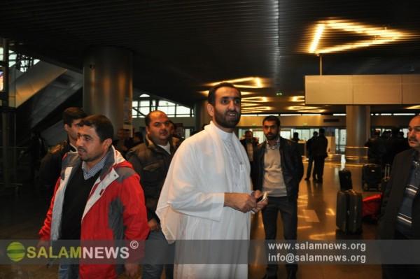 Группа азербайджанских паломников отправилась сегодня из Москвы в Хадж