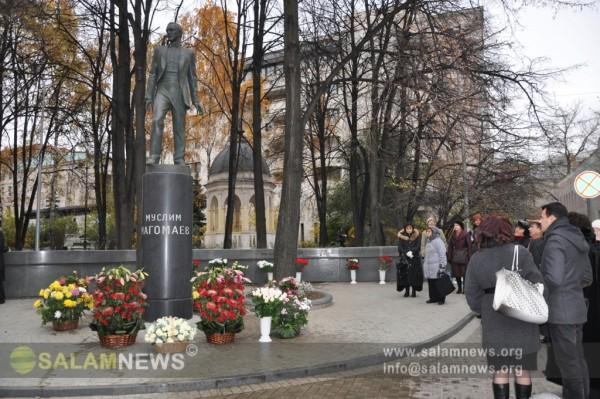 Moskvada Müslüm Maqomayevin xatirəsi yad edilib