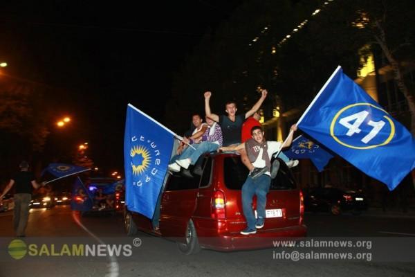 Gürcüstanda keçirilən parlament seçkiləri müxalifətin qələbəsi ilə nəticələnib