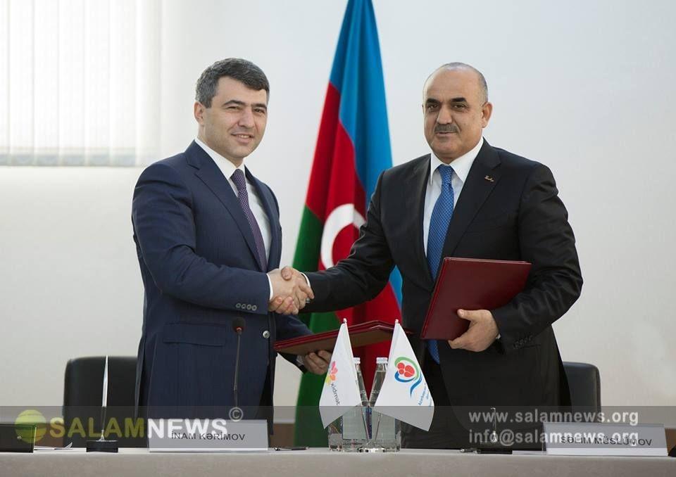 """ƏƏSMN və """"Asan Xidmət"""" arasında Memorandum imzalanıb"""
