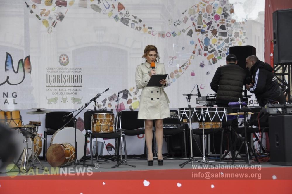 İçərişəhərdə Bakı Şoppinq Festivalının açılış mərasimi olub