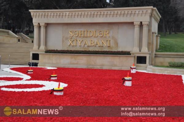 В Азербайджане отмечается 22-я годовщина трагедии 20 Января