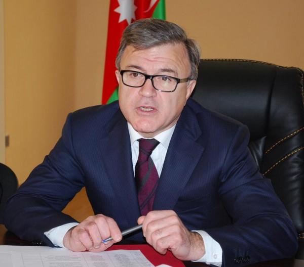 Ekologiya və Təbii Sərvətlər Naziri cənab   Hüseyn Bağırova