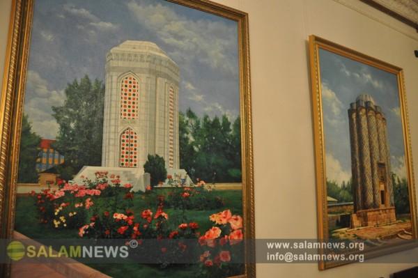 В Москве открылась выставка азербайджанской художницы Ильхамы Гурбановой