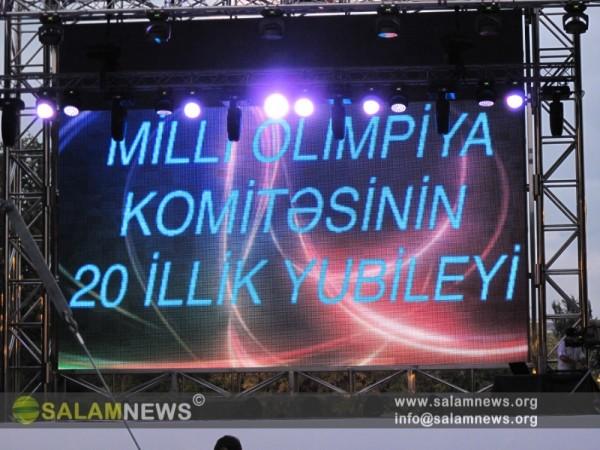 Bakı MOK-un yaradılmasının 20 illiyinə həsr olunmuş təntənəli tədbir keçirilib