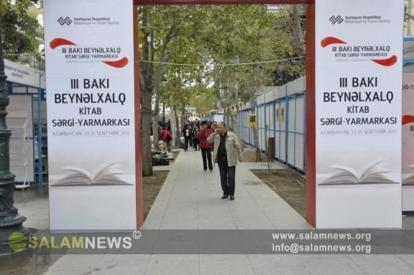 Bakıda III Beynəlxalq Kitab Sərgi-Yarmarkası açılıb