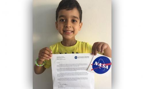 Пятилетний парень изобрел ракету ипопросил лицензию уNASA