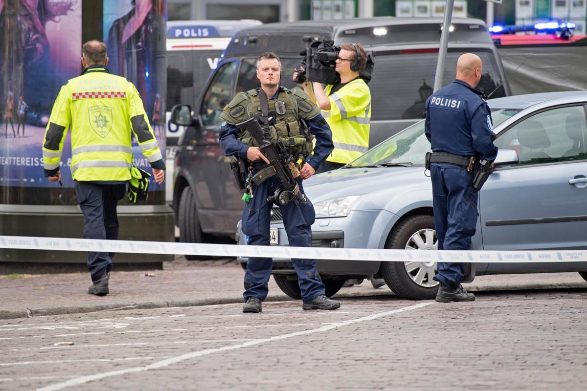 Полиция отпустила одного из подозреваемых в нападении в Турку