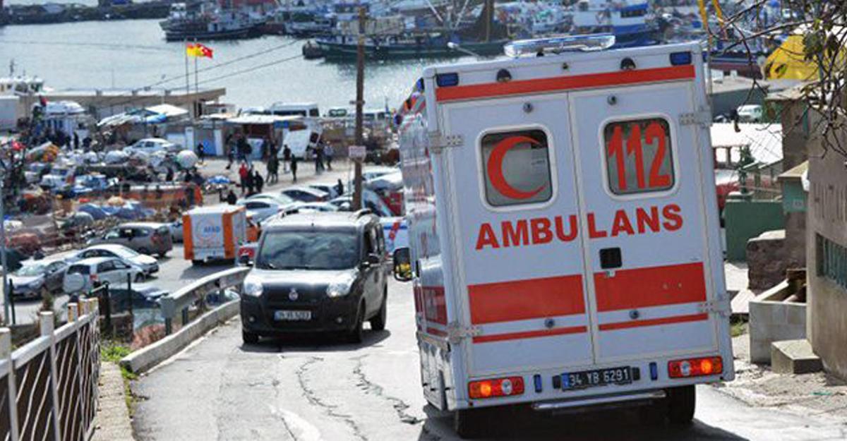 Втурецкой Аланье столкнулись автобус и грузовой автомобиль, умер ребенок