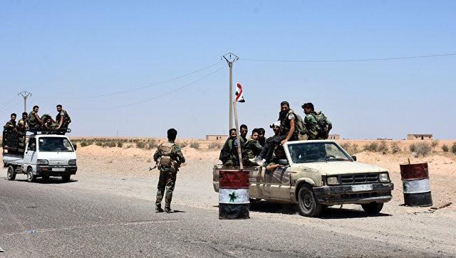 ВСирии при участии ВКС Российской Федерации проведена действенная десантная операция
