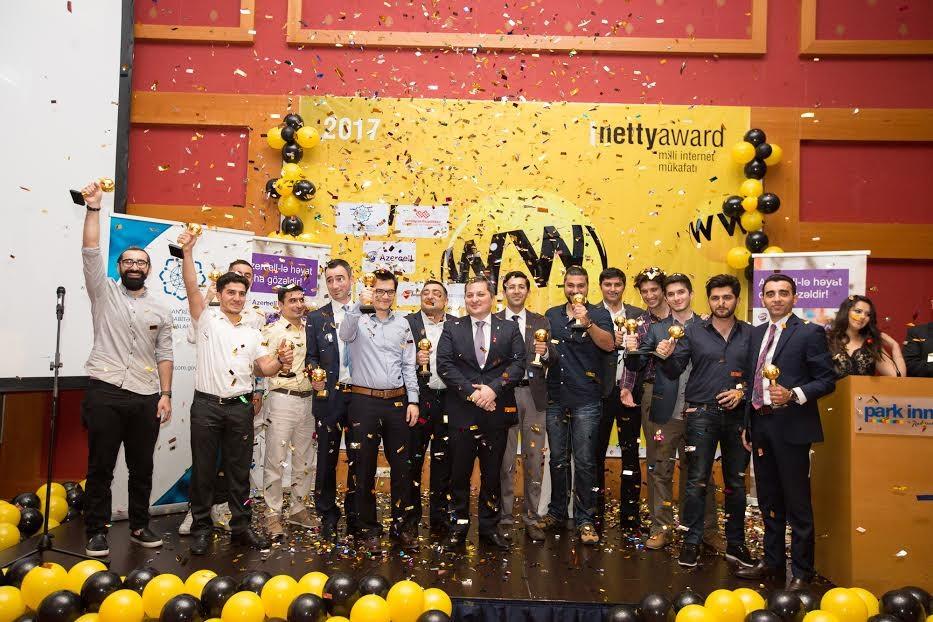 Названы победители Национальной Интернет-премии Азербайджана NETTY2017