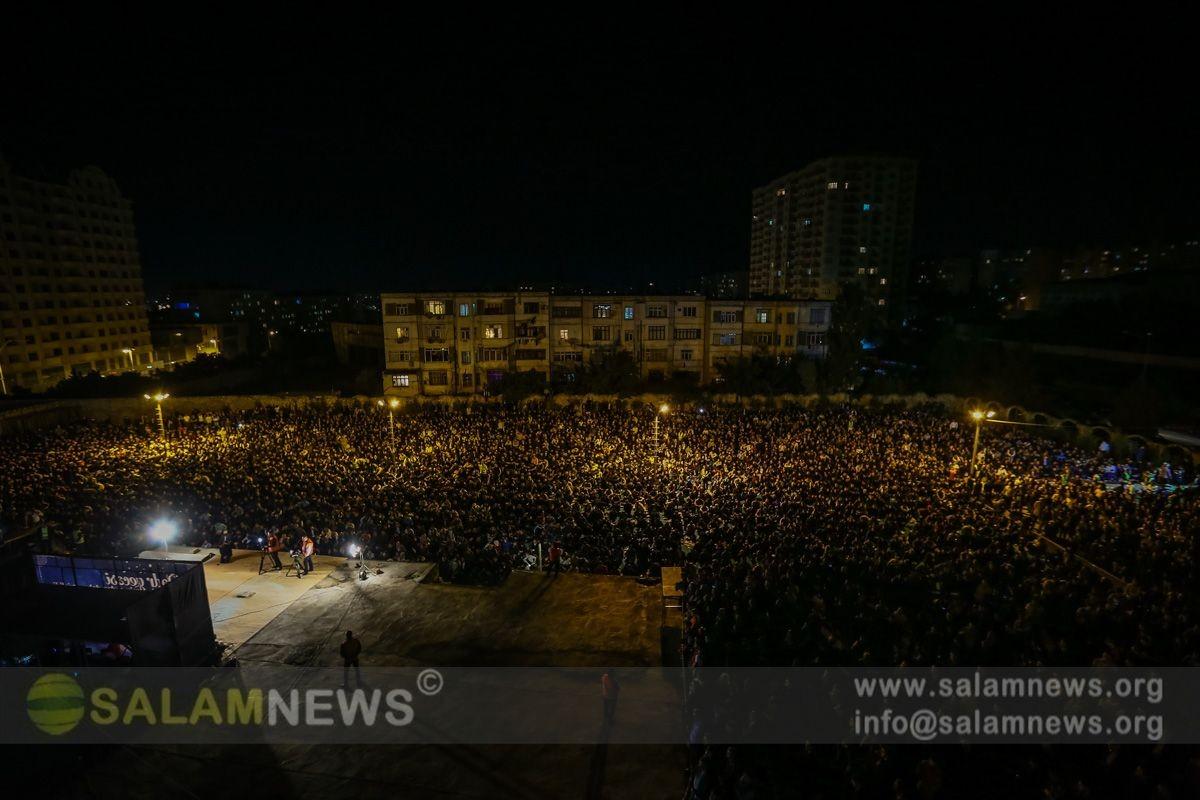Fatimeyi-Zəhra məscidində üçüncü Qədr gecəsi qeyd edilib