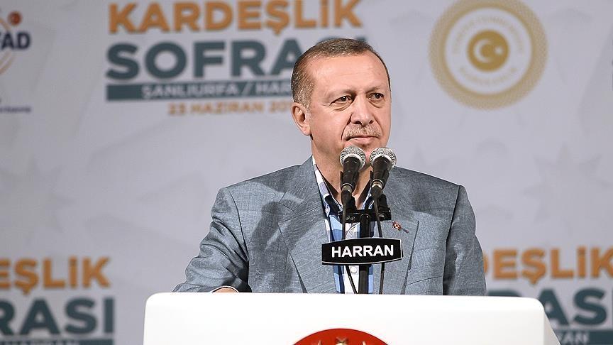 Эрдоган назвал «серьезной ошибкой» планы США попередаче вооружения курдам