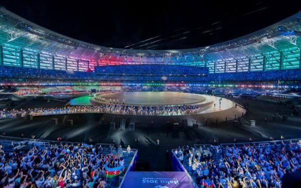 """""""Bakı-2015"""" I Avropa Oyunlarının rəsmi açılış mərasimi başa çatıb"""