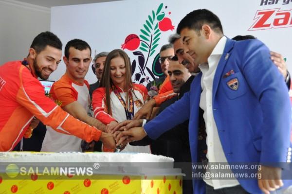 """Azərbaycan Milli Olimpiya Komitəsi """"Zəfər günləri""""ni davam etdirir"""