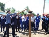 Biləsuvar, Ağsu və İsmayıllı rayonlarının kəndlərinə təbii qaz verilib