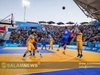 Azərbaycanın kişilərdən ibarət basketbol komandası finala yüksəlib (FOTOLENT)