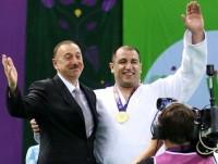 Şadam ki, medalı mənə prezident İlham Əliyev təqdim etdi - İlham Zəkiyev