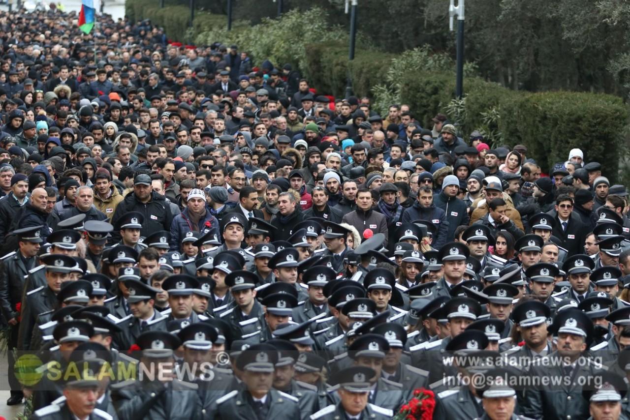 Азербайджан высоко чтит память шехидов
