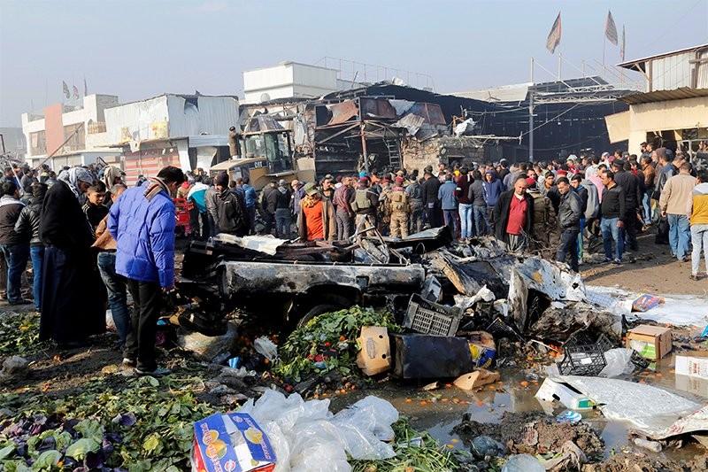 Теракт вБагдаде забрал жизни 12 человек