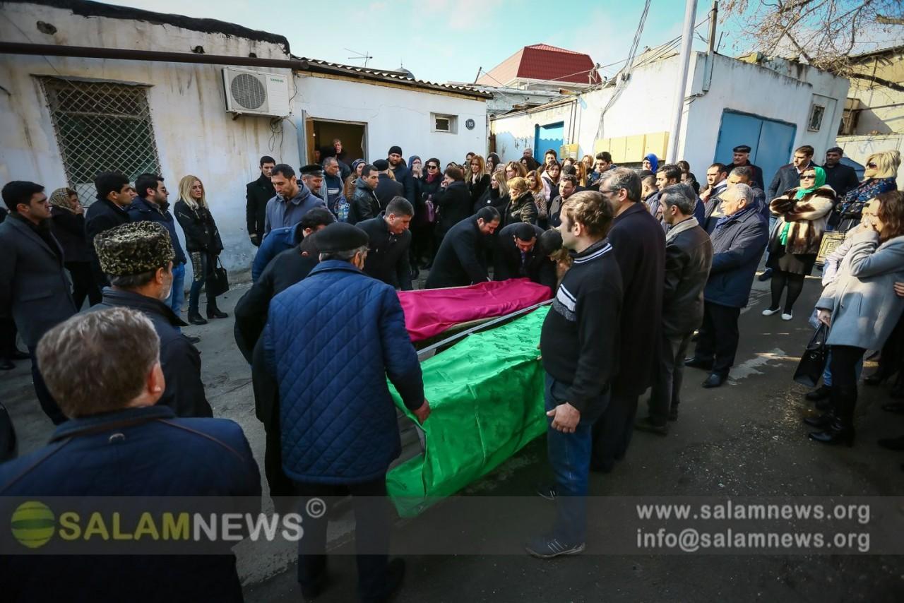 Psixoloq Dəyanət Rzayev son mənzilə yola salınıb