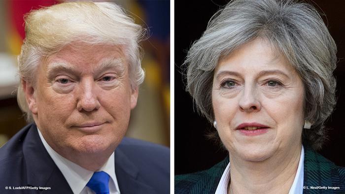 Дональд Трамп посетит Англию поприглашению королевы