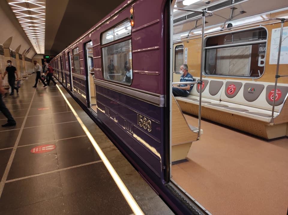 Bakı metrosu 72 gün sonra - FOTOREPORTAJ