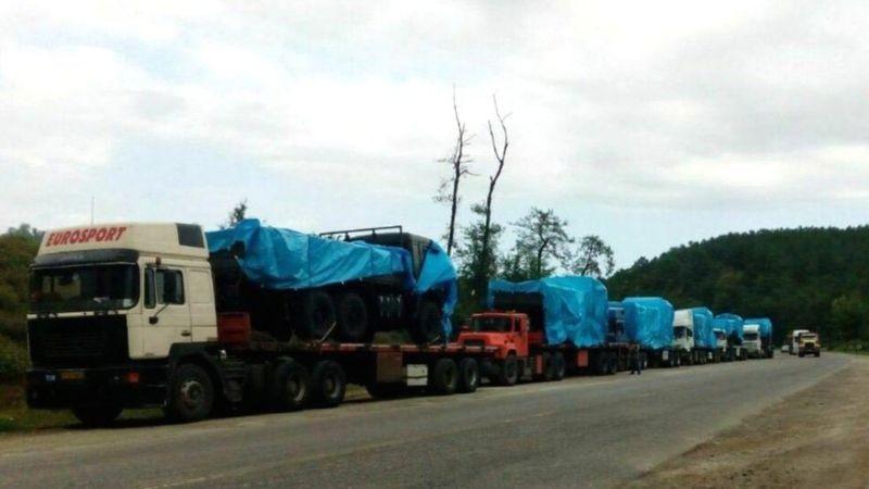 Губернаторство Тебриза сообщило, что российские грузовики КАМАЗ задержаны на ирано-армянской границе