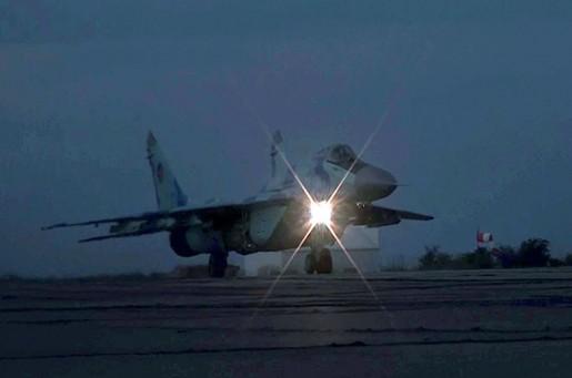 Hərbi Hava Qüvvələri gecə təlimləri keçirib (VİDEO)