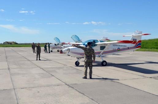 Azərbaycan Ordusunun pilotları təlim-məşq uçuşlarına başlayıb