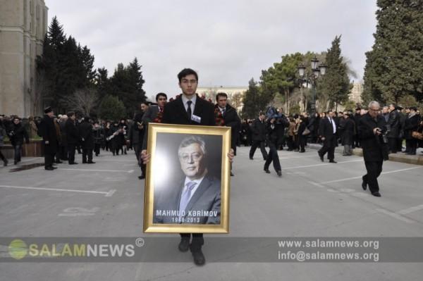Академик Махмуд Керимов похоронен в I аллее Почетного захоронения
