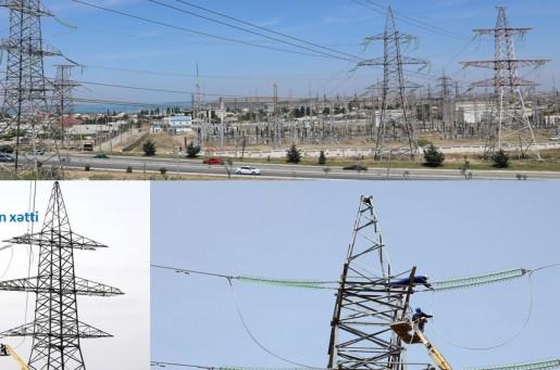 Bakının elektrik enerjisi ilə təchizatı yaxşılaşdırılıb