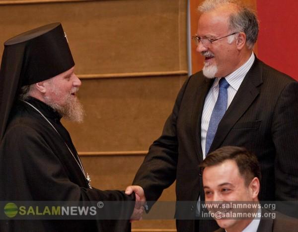 Bakı pravoslav yeparxiyası Milad bayramı ilə bağlı tədbir keçirib