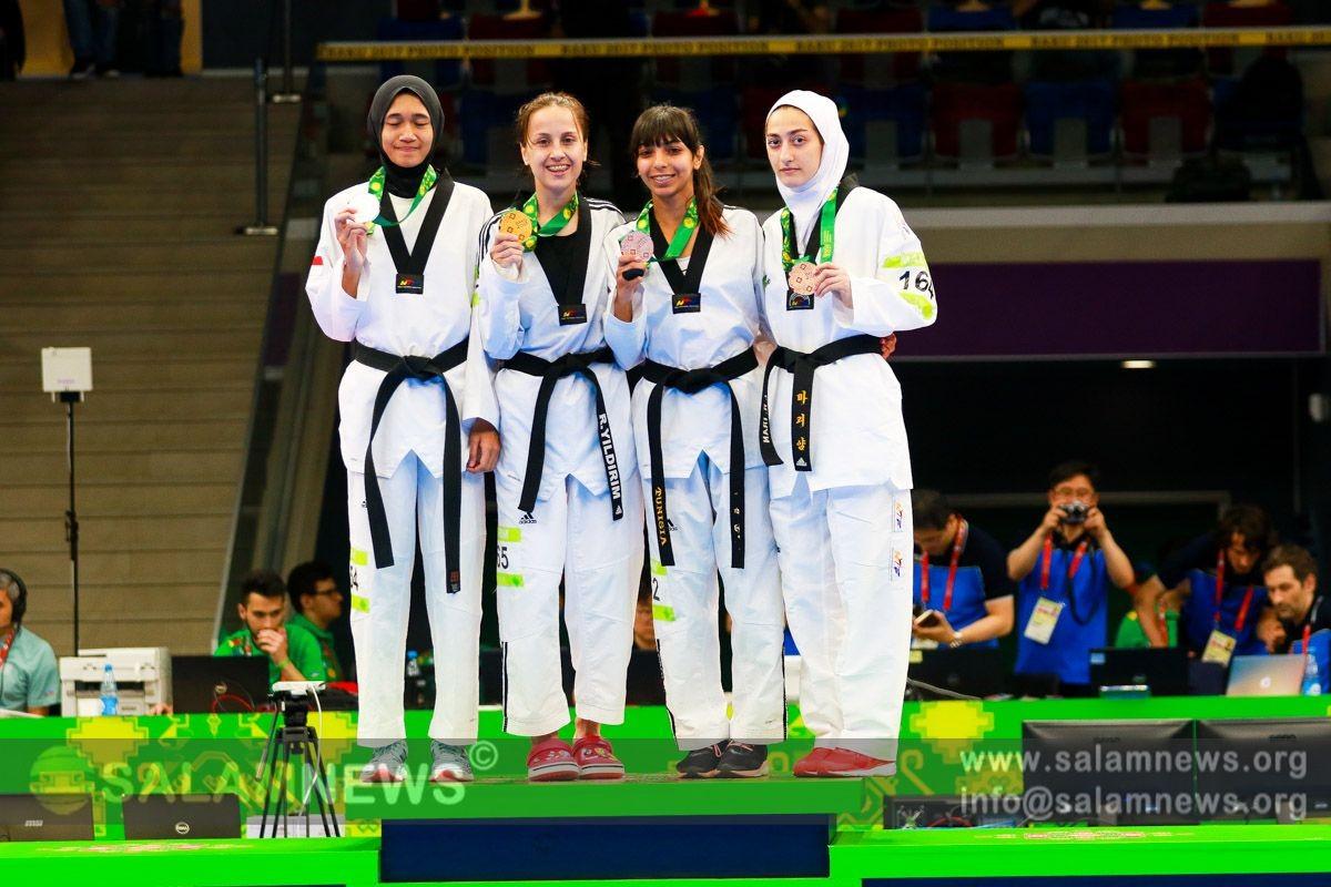Azərbaycan taekvandoçuları bir qızıl və bir gümüş medal qazanıblar