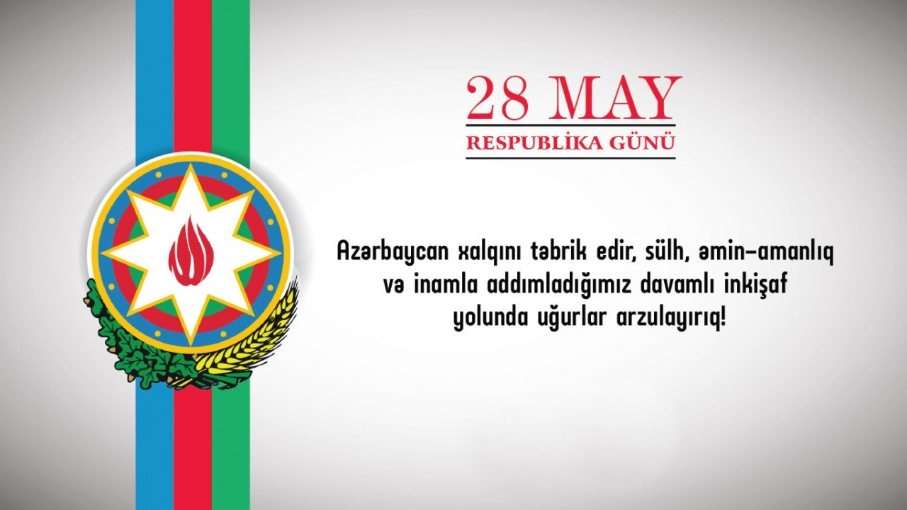 Владимир Путин поздравил Азербайджан сДнем Республики