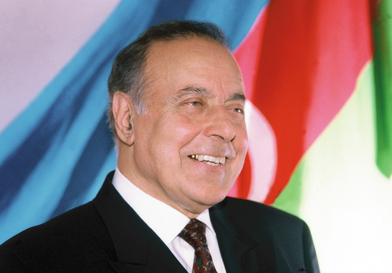 heydar aliyev the national leader of azerbaijan
