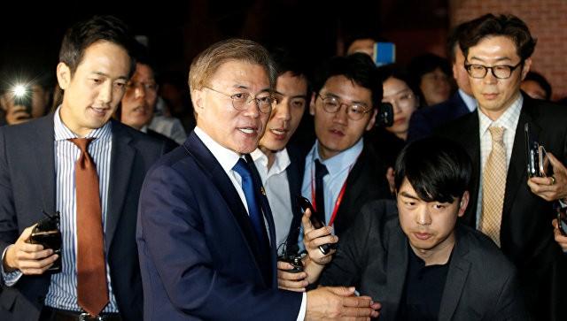 Новый президент Ю.Кореи пообещал пересмотреть вопрос размещения противоракетной обороны  США