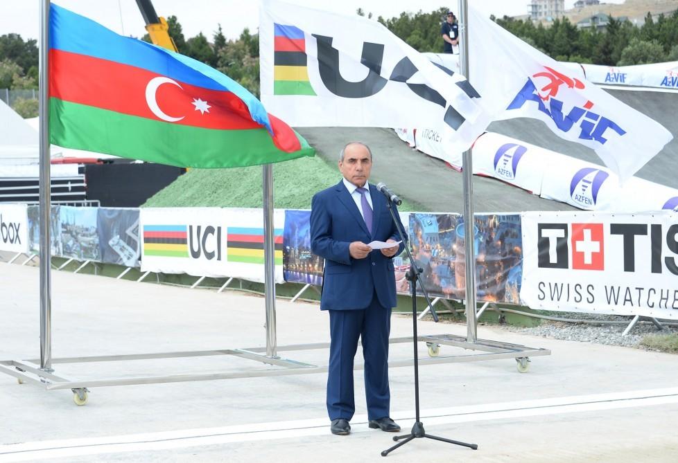 В Баку состоялась церемония открытия чемпионата мира по BMX