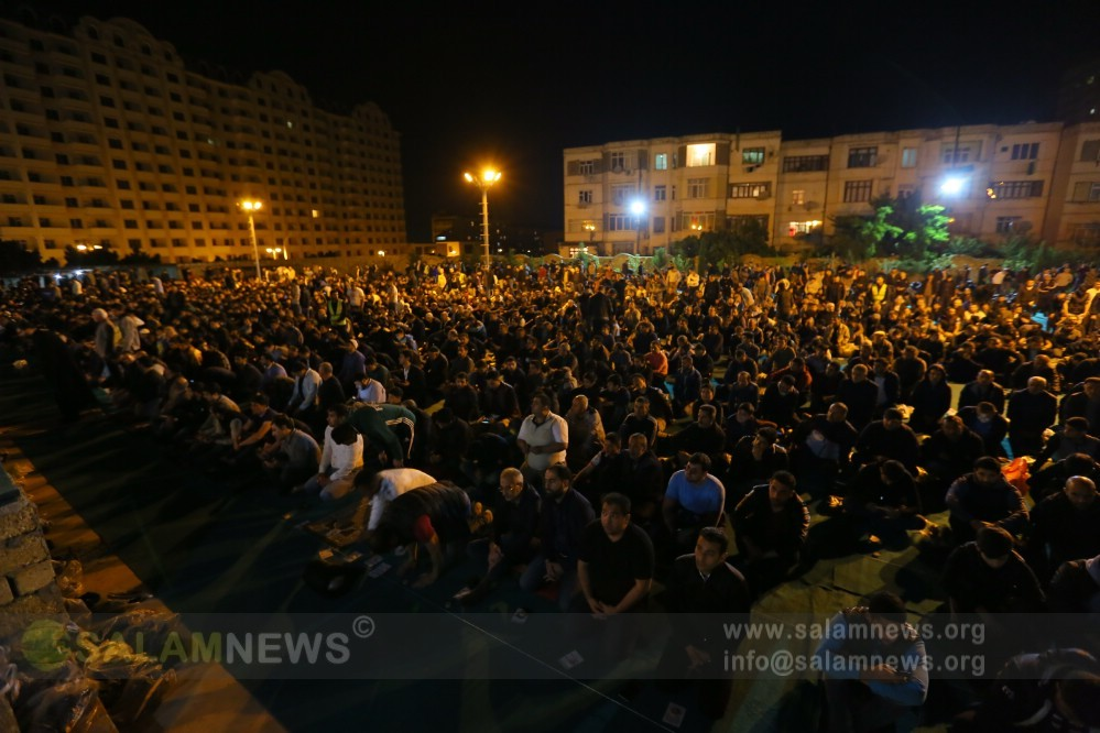 В мечети Фатимеи Захра отмечена вторая ночь Гядр