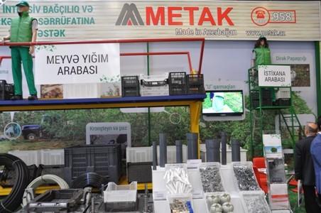 """""""CaspianAgro 2016"""" sərgilərinin açılışı olub"""