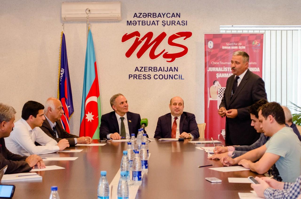 Mətbuat Şurası və Milli Olimpiya Komitəsi «dəyirmi masa» keçirib