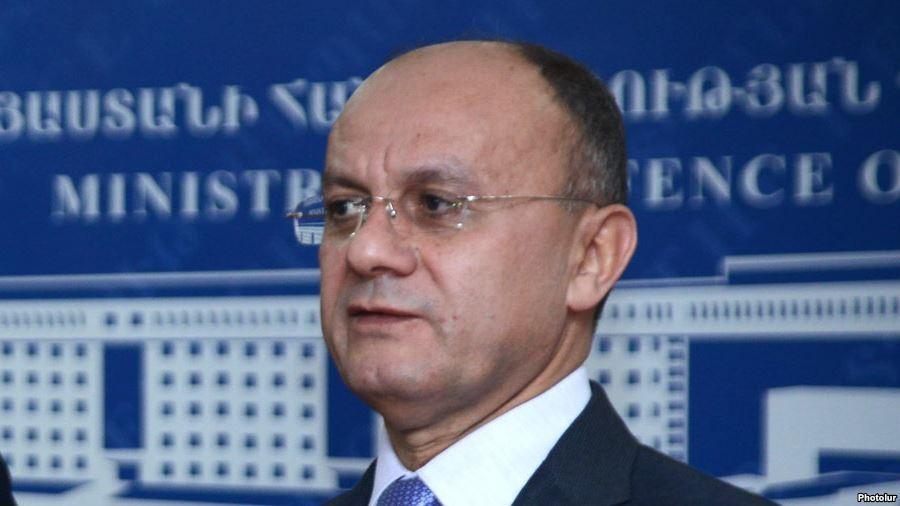 Министр обороны Российской Федерации прибыл вЕреван