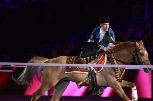 Qarabağ atları Britaniya Kraliçası qarşısındaöz məharətlərini nümayiş etdirib