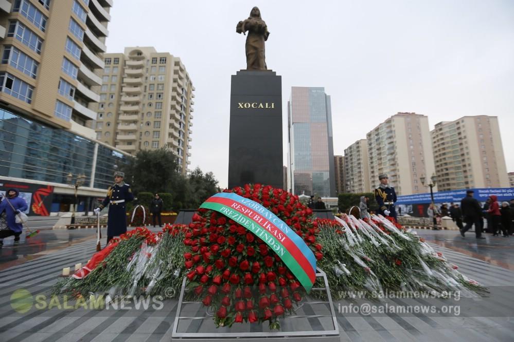 Azərbaycan xalqı Xocalı soyqırımı qurbanlarının xatirəsini anır