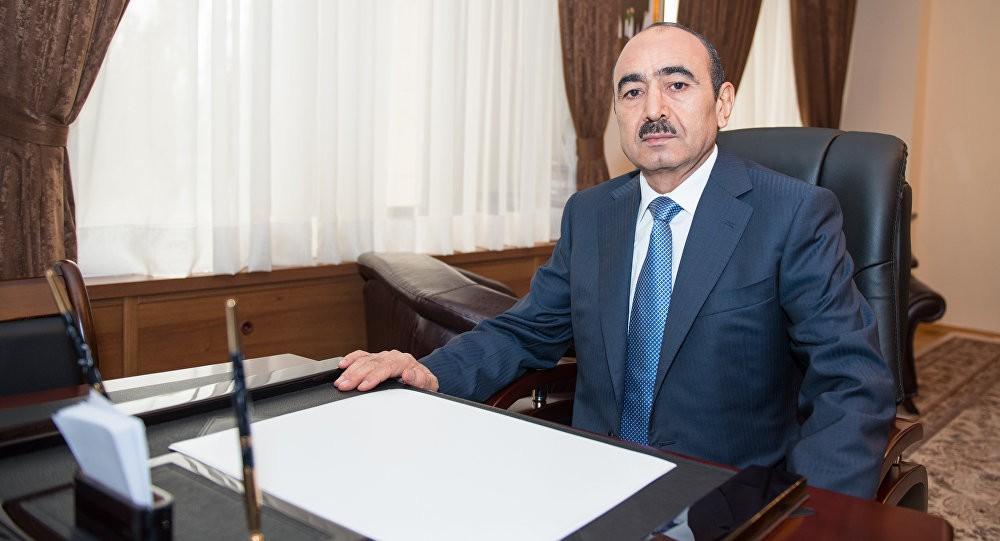 Image result for Əli Həsənov İlham Əliyev