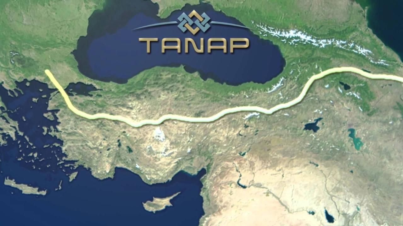 Церемония ввода встрой TANAP состоится 19июня